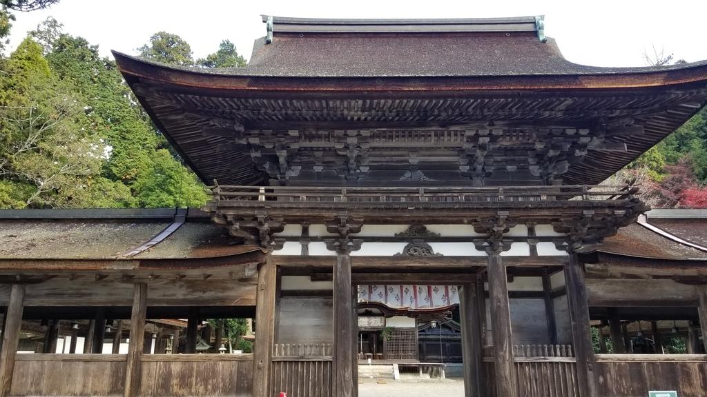 油日神社楼門