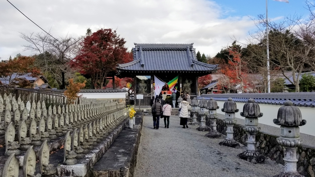 櫟野寺の入り口