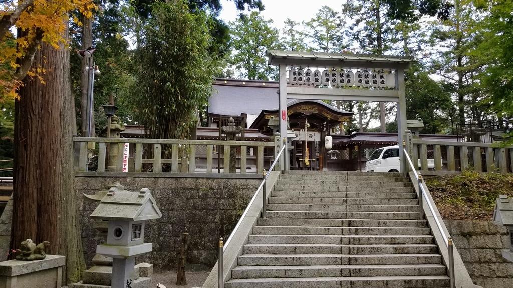 田村神社本殿