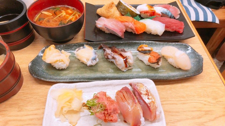 豪華寿司盛り合わせ写真