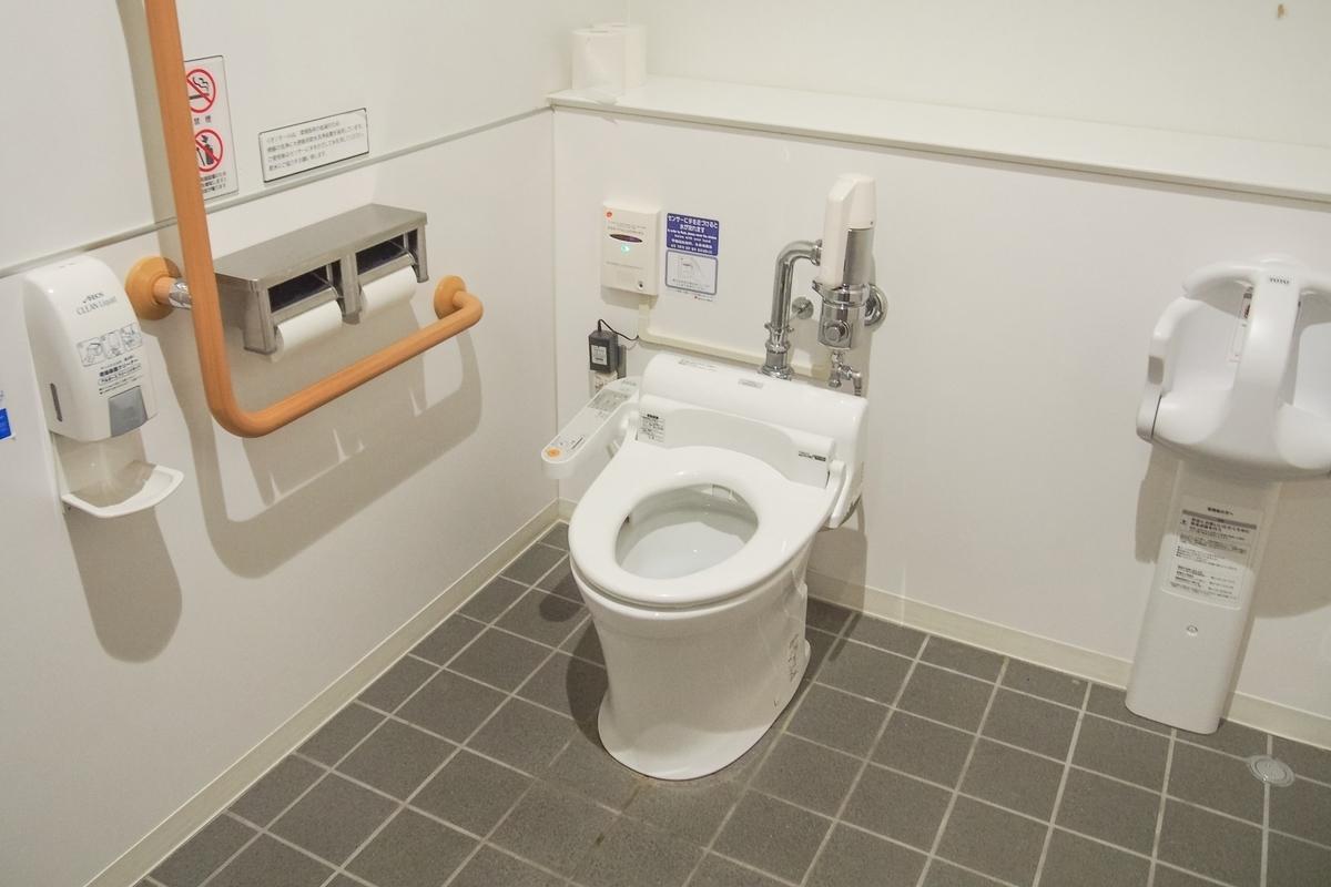 身障者用トイレ画像