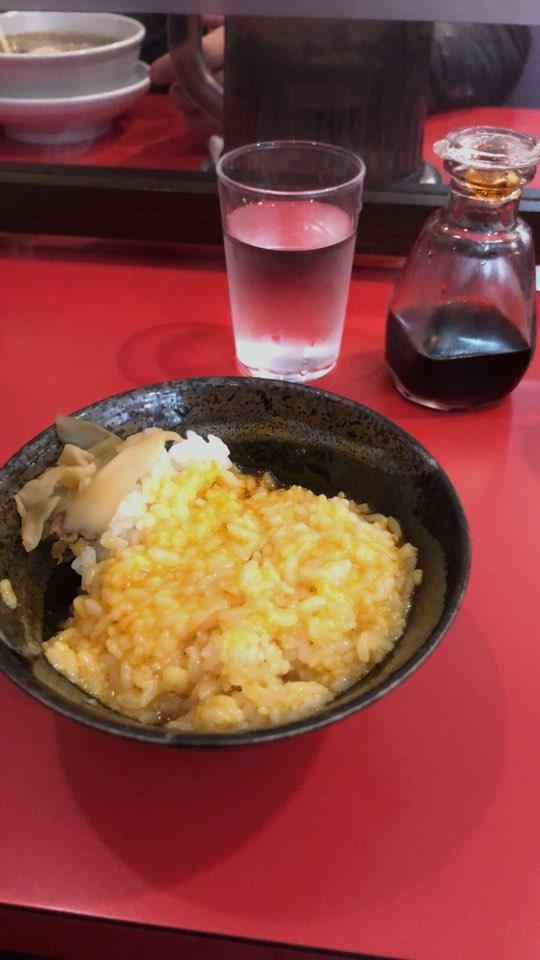 卵かけご飯(混ぜた後)