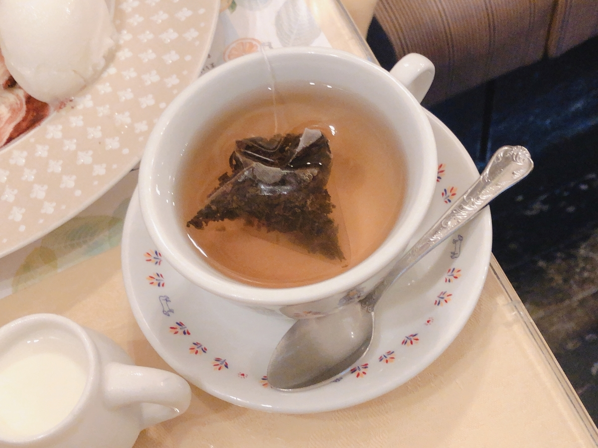 カラメル紅茶