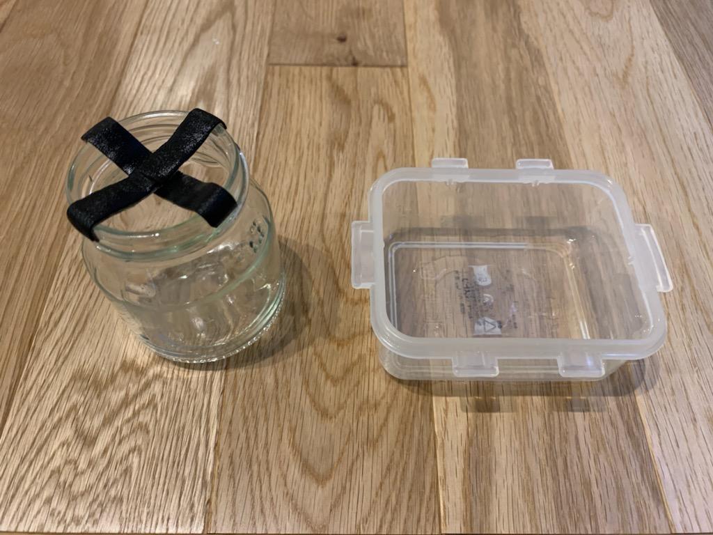 オトシンクルスの餌付けに使用する道具