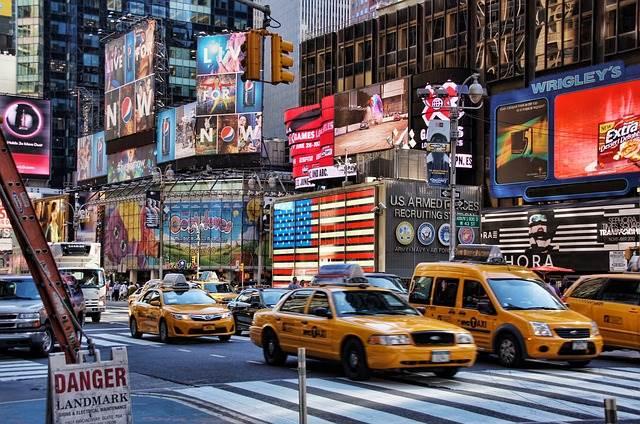 タクシーの写真
