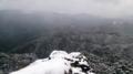 鳳来寺山の鷹打ち場からの展望