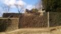 天空の城跡「苗木城跡の大矢倉」