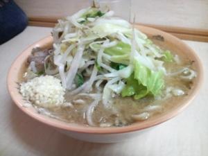 ラーメン二郎京成大久保店 ミニラーメン