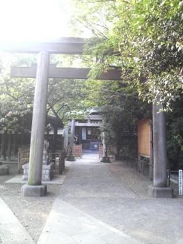 荏原神社一之鳥居