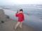 九十九里浜でエアガンで遊ぶ