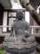 銅造地蔵菩薩坐像近景