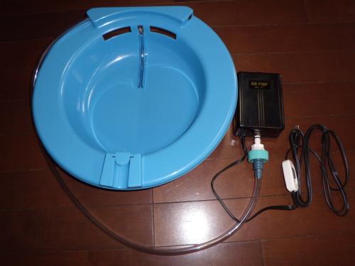 新品のマイ座浴器セット