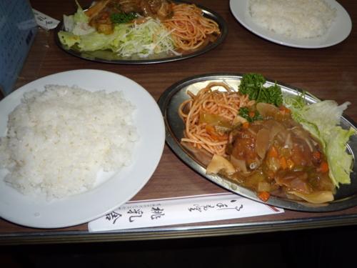 肉団子に野菜あんかけ(480円)