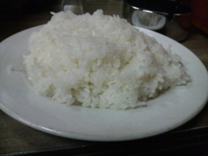大盛りライス(+30円)