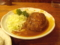 ハンバーグ(700円)