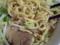 ホギホギの麺
