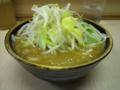 つけ麺・汁・ヤサイ増し
