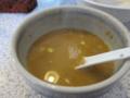 スープ割り後