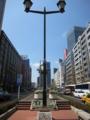 八重洲通り 平和の鐘