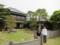 さくら庭園から旧堀田邸をみる