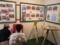 発掘調査の様子のパネル展示