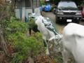 CowParade丸の内の 牛