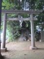 末社 浅間神社=富士塚