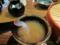 濃い蕎麦湯