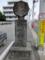 成田山道分岐石標