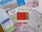 献血カードと粗品とチラシ