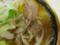 今日のスープとブタ