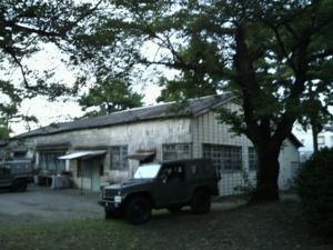 旧陸軍時代のものと思われる建築物