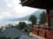 中禅寺五大堂より中禅寺湖を望む
