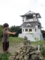 八溝山頂と展望台