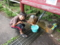 八溝山日輪寺の湧水