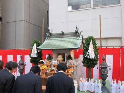 薬祖神社 前