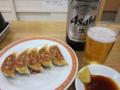 亀戸餃子とビール