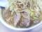 今日の麺とブタとスープ