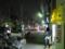 夜の眉二郎と路駐翁のトラック