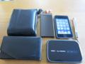 財布・携帯・デジカメ・ipod・ルータ