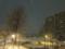 昨夜の雪の様子 1