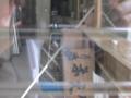 工事中の店内