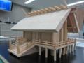 伊勢神宮外宮の建築模型