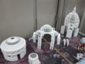 三大ドームの建築模型