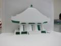 寺院のミニミニ建築模型