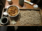板蕎麦+かきあげ丼(500円)+生玉子(0円)