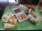 生春巻と揚春巻とサラダ