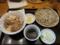 豚すき焼丼とおそばのセット(750円)