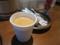 サービスのホットコーヒー