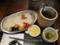 人形町ワインカレー(750円)+大盛(0円)+チーズ(サービス券-100円)+ホッ